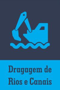 Dragagem de Rios e Canais - Consultoria em Saneamento Ambiental e Infraestrutura - Florianópolis / Santa Catarina