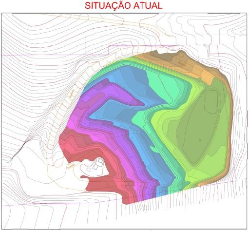 Situação Atual do Aterro Sanitário de Pedreira