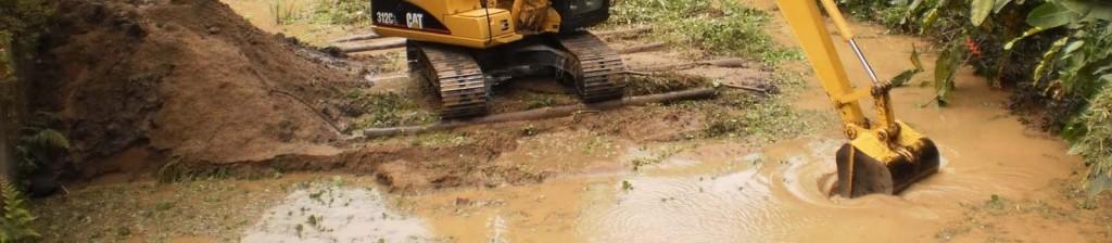 Dragagem de Rios e Canais - Consultoria e Engenharia Ambiental em Saneamento e Infraestrutura em Florianópolis, Santa Catarina